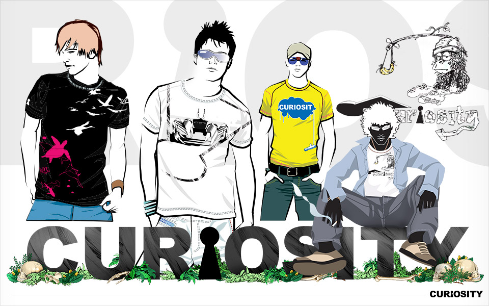Concept compliation for Curiosity clothing