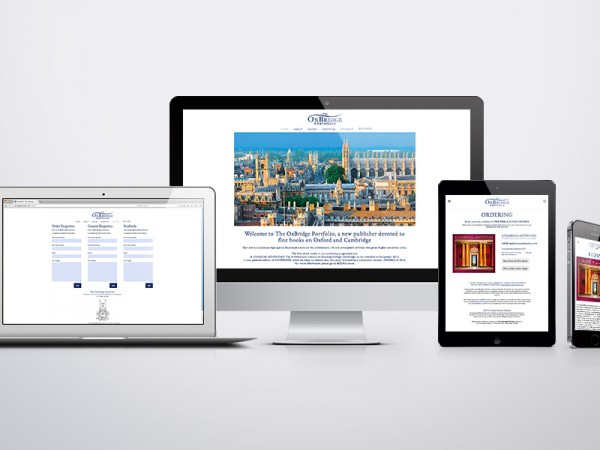 Responsive website build for The OxBridge Portfolio