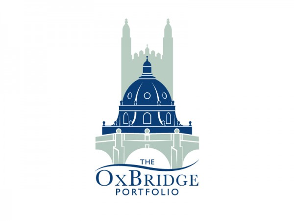 Graphic logo for The OxBridge Portfolio