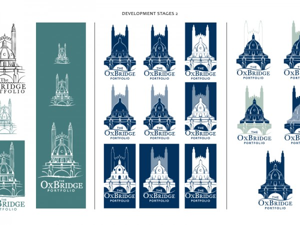 Logo development for The OxBridge Portfolio – 2