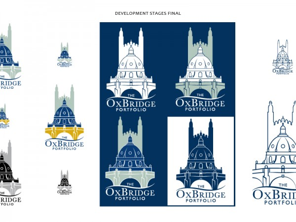Logo development for The OxBridge Portfolio – Final Stages