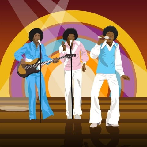 Jackson 5 Illustration