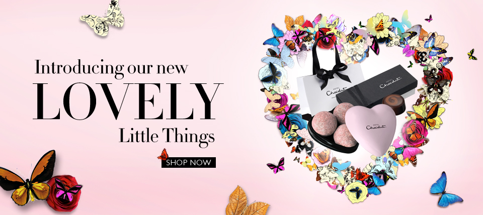 Lovely Little Things 2011 960x428 px home banner for Hotel Chocolat