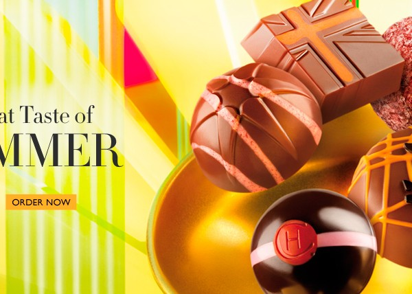 Summer12 960x428 px home banner for Hotel Chocolat
