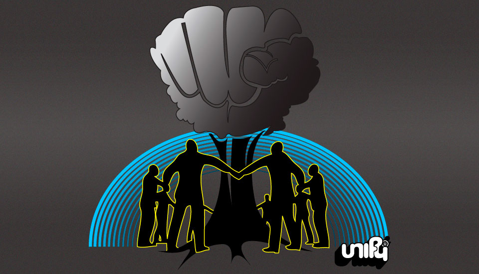 'Growing Power' illustration for Unify clothing