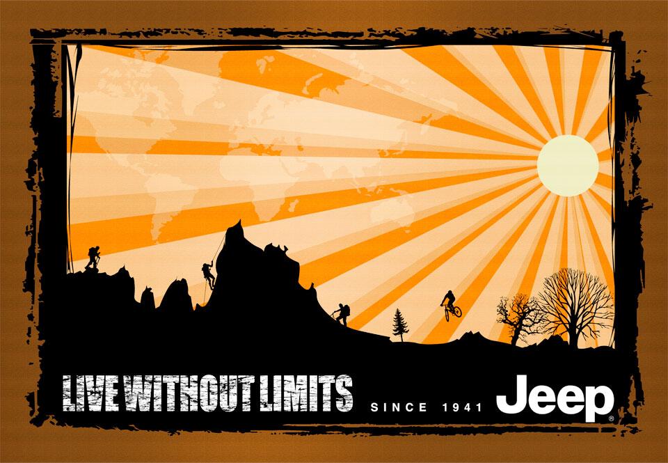 Jeep Silhouette design