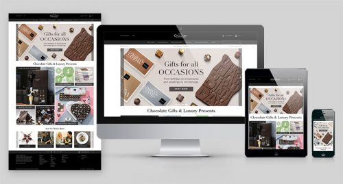 Hotel Chocolat's New Website